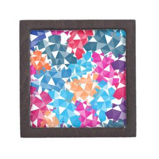 Formas geométricas coloridas 3D Joyero