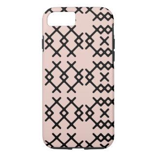 Formas geométricas del Dogwood del nómada pálido Funda iPhone 7