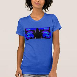 Fórmela a camisa 4 en azul/negro/lavanda