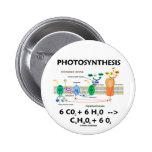 Fórmula de la fotosíntesis (sustancia química) pin