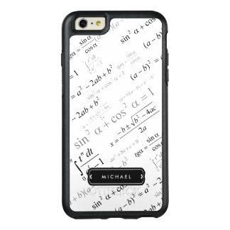 Fórmula divertida de la matemáticas para el funda otterbox para iPhone 6/6s plus