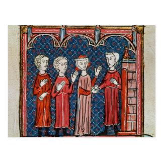 Fornicación y crimen confiados por un sacerdote postal