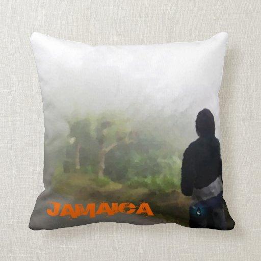 Forrest jamaicano almohada