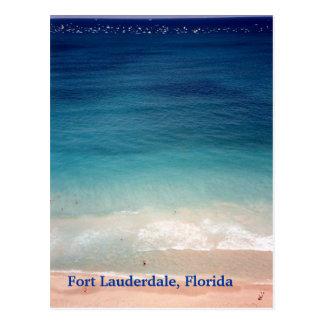 Fort Lauderdale, postal aérea FL de la foto de la