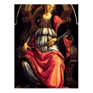 Fortaleza de ánimo de Sandro Botticelli Postal