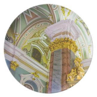 Fortaleza St Petersburg Rusia de Peter y de Paul Plato