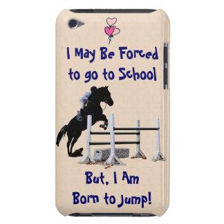 Forzado para ir a la escuela, llevada para saltar iPod touch cárcasas