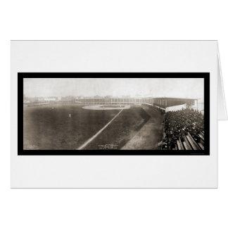 Foto 1905 de la primera jornada de Cincinnati Tarjeta De Felicitación