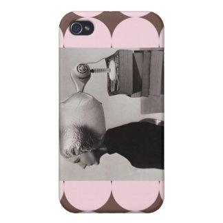 - Foto 1960 de la belleza del vintage iPhone 4/4S Carcasa
