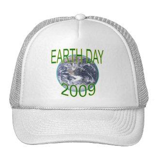 Foto 2009 del Día de la Tierra de las camisetas y  Gorros