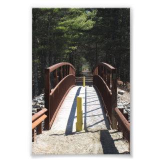 """Foto 4"""" x 6"""" impresión del puente de la pista de"""