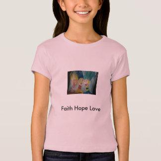Foto 666, amor de la esperanza de la fe camiseta