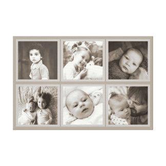 Foto ajustada personalizada impresión en lienzo