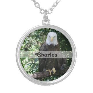 Foto americana de la fauna de Eagle calvo Pendientes Personalizados