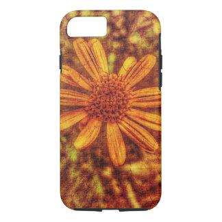 Foto Antiqued flor amarilla Funda iPhone 7