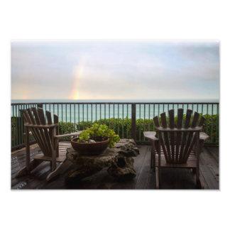Foto Arco iris y Adirondacks en el océano