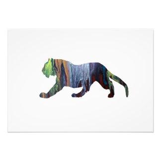 Foto Arte del tigre