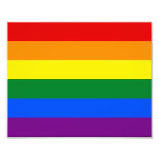Foto Bandera del arco iris