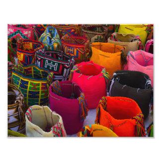 Foto Bolsos de los mochilas de Wayuu para la venta en