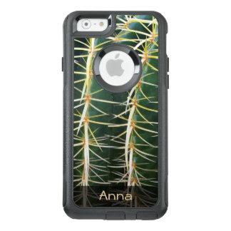 Foto botánica del cactus tropical de la esfera funda otterbox para iPhone 6/6s