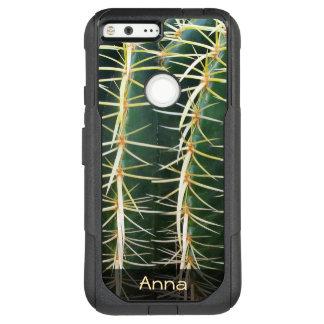 Foto botánica del cactus tropical de la esfera funda para google pixel XL de OtterBox