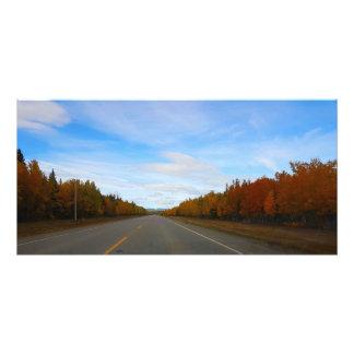 Foto Camino del otoño