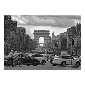 Foto Campeones Elysees. Vista del Arch. triunfal