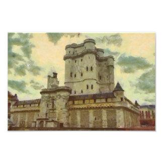 Foto Castillo de Vincennes, pintura de París