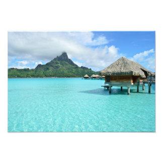 Foto Centro turístico de Overwater en la impresión de