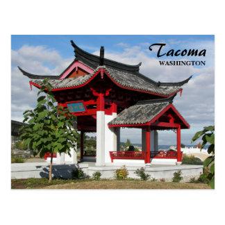 Foto china del viaje del parque de Tacoma Postal