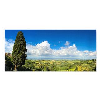 Foto Cielo azul en Toscana