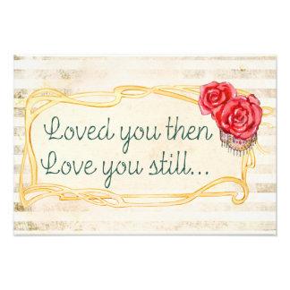 Foto Cita romántica inspirada del amor