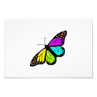 Foto Clipart colorido de la mariposa