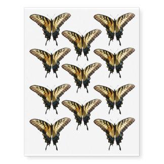 Foto colorida hermosa de la mariposa III de Tatuajes Temporales
