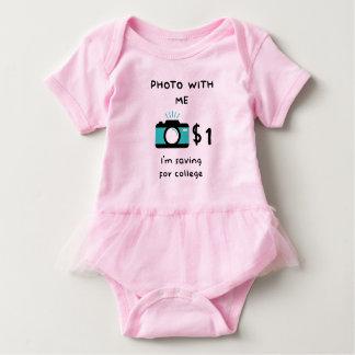 Foto con el bebé body para bebé