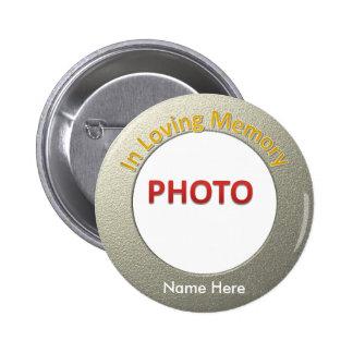 Foto conmemorativa personalizada chapa redonda de 5 cm