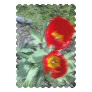 Foto corregida de la flor comunicados personalizados