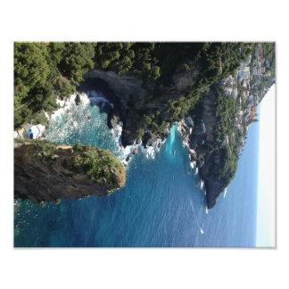 Foto Costa hermosa de Amalfi, Praiano, Italia