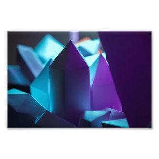 Foto Cristales oscuros - tonalidades de color morado