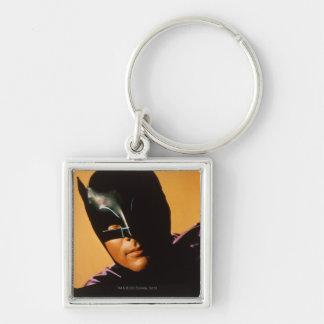 Foto de Batman Llavero Cuadrado Plateado
