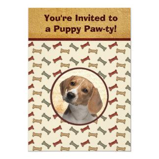 Foto de encargo del mascota del acontecimiento del invitación 12,7 x 17,8 cm