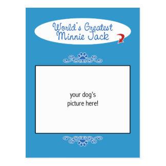 ¡Foto de encargo! Mundos el Minnie más grande Jack Postal