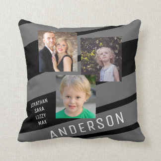 Foto de familia de encargo personalizada cojín decorativo