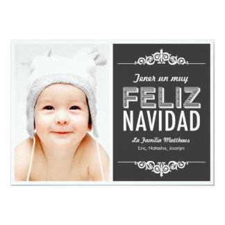 Tarjetas para las primeras Navidades del bebé