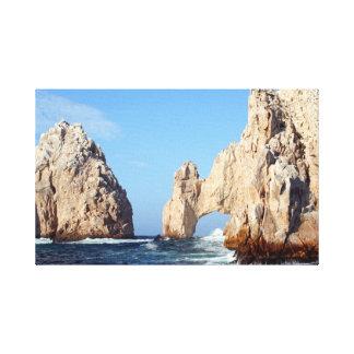 Foto de la formación de roca del Los Arcos Lienzo Envuelto Para Galerias
