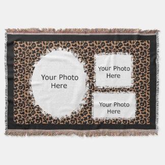 Foto de la frontera del modelo del leopardo manta