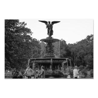 Foto de la fuente de Bethesda, Central Park