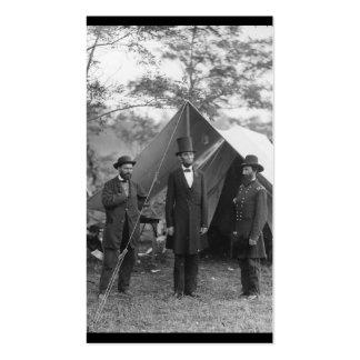 Foto de la guerra civil circa 1862 tarjetas personales