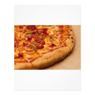 Foto de la pizza folleto 21,6 x 28 cm