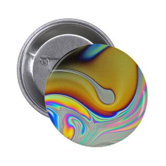 Foto de la superficie de la burbuja de jabón pin